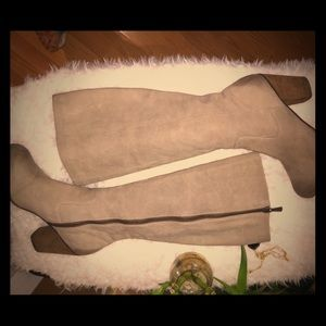 B.P tall boots. Size 9.5 light brown